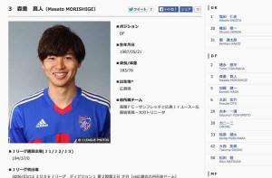 ワールドカップで先発出場したFC東京・森重真人!ジャマイカ戦での活躍に期待!