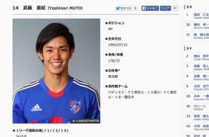 本日サッカー・ジャマイカ戦!アギーレ期待のFC東京・武藤嘉紀!再びゴールなるか?
